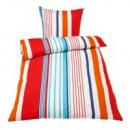 Großhandel Bettwäsche & Matratzen: Bettwäsche Stripes 135 x 200cm