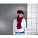 wholesale Scarves & Shawls: Scarf Amazing Scarf bordeaux