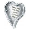 Herz-Anhänger mit Liebes-Spruch