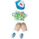 wholesale Childrens & Baby Clothing: Monchhichi  Hawaiian shirt and cap boy