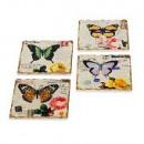 Untersetzer  Papillon , 4er Set
