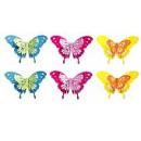 groothandel Foto's & lijsten: Wanddeko   Butterfly , set van 6