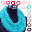 wholesale Scarves & Shawls: Loop scarf snood with design  uni