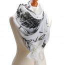 wholesale Scarves & Shawls: Scarf  Paris  20% cotton good quality