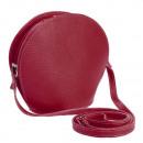 Großhandel Taschen & Reiseartikel: Italy Echtleder  Messenger Tasche Handtasche d.Rot