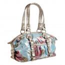 ingrosso Borse & Viaggi: Lancadier borsa  delle signore tote bag Blu / Rosso