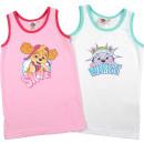 Großhandel Fashion & Accessoires: Paw Petrol- Kinder Unterhemd Mädchen 2er Pack
