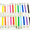 groothandel Sieraden & horloges: Stalen en rubberen  armband kleur 10mm. assortiment