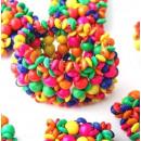 Großhandel Beads & Charms: Kinder mehrfarbige Perlen Armband Holz