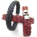 5 Braided leather bracelet