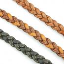 grossiste Bijoux & Montres: Cousu bracelet en cuir avec 3 plis tresse à proxim