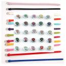 groothandel Sieraden & horloges: 260 Starter Kit 50  round brieven armbanden 6 mm
