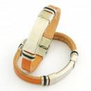 Großhandel Schmuck & Uhren: Stahl und Leder  Armbänder 10x3 in Spanien Maroon 5