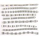 ingrosso Gioielli & Orologi: bracciali in  acciaio STRETTI 316L. lotti Assorted