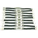 Großhandel Schmuck & Uhren: Stahlband und  verschiedene Ledergeflecht