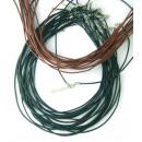 grossiste Mercerie et couture: cordon en cuir  avec 1,5 mm  clôture. Lot ...