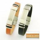 Großhandel Schmuck & Uhren: handgemachte  Armbänder Stahl  und Leder Made in ...