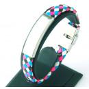 grossiste Bijoux & Montres: Bracelet en cuir  pour l'acier d'enregistre