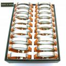 ingrosso Gioielli & Orologi: Visualizza con 30  bracciali in acciaio e pelle. P_