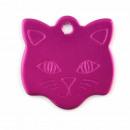 wholesale Pet supplies: Aluminum sheet pet cat. FUCHSIA