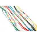 grossiste Bijoux & Montres: Heureusement  bracelets de coton de couleurs