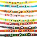 grossiste Bijoux & Montres: Enfants de couleur  bracelet en macramé. modèle oei