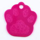 wholesale Pet supplies: Aluminum sheet  Footprint pet. FUCHSIA