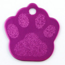 wholesale Pet supplies: Aluminum sheet  Footprint pet. PURPLE