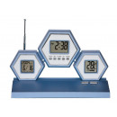 groothandel Consumer electronics: LCD KLOKRADIO + + THERMOMETER