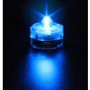 grossiste Ampoules: Bougie à LED  SUBMERSIBLE lumière BLEUE