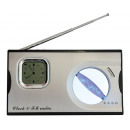 grossiste DVD & Television & Accessoires:HORLOGE LCD + RADIO