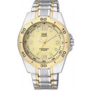 Großhandel Markenuhren: Armbanduhr Q &  Q F496-403 (Citizen Group)