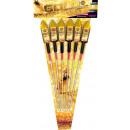 Großhandel Feuerwerk: Goldrush 6-tlg edles Premium Raketensortiment