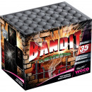 Großhandel Feuerwerk: Bandit 35-Schuss -Multi-Stern Batterie Feuerwerk