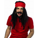 Piraten Perücke  f Karneval Fasching Geburtstag
