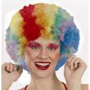Regenbogen Rainbow Perücke f. Karneval / Fasching