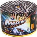 Großhandel Feuerwerk: AMBOSS 451 Schuß Mega Silvester Feuerwerk Batterie