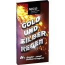 groothandel Vuurwerk: Goud en zilver regen 6-delig feestvuurwerk