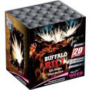 groothandel Vuurwerk: Batterij met Buffalo Bill 20-schots effect