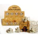 Schutzengel in Geschenktüte im Pappdisplay