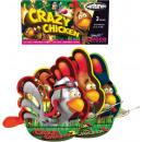 Crazy Chicken Fontäne Jugend - Feuerwerk Party
