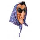 Hexenmaske f. Halloween, Karneval, Fasching