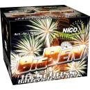 groothandel Vuurwerk: Big Ben 25-shot XXL vuurwerkbatterij