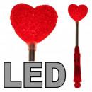 LED Herz Stab 24 cm-3 Effekte f Muttertag Konzert