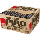Prezident Piro 144  Schuss MEGA Feuerwerk Batterie