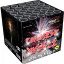 grossiste Feux d'artifice: Batterie de feux d'artifice de 25 coups du mur