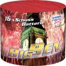 groothandel Vuurwerk: Big Ben, 16 schot demontage vuurwerk batterij