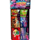 Großhandel Garten & Baumarkt: Monster Mania Jugend Feuerwerk 6tlg