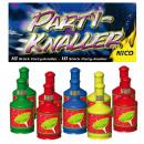Großhandel Geschenkartikel & Papeterie: Party Knaller Popper, 10er Set f Geburtstag