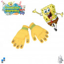 Winter Handschuhe Acrylic SpongeBob mit Flicken
